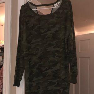 GAP- camp sweatshirt dress